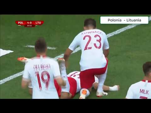 Poland Vs Lituania 4:0 All Goals and Highlights [HD]
