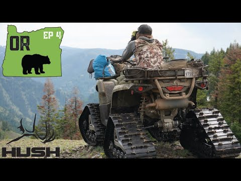 WE RAN OUT OF GAS 22 MILES DEEP! OREGON BEAR HUNT DAY 5