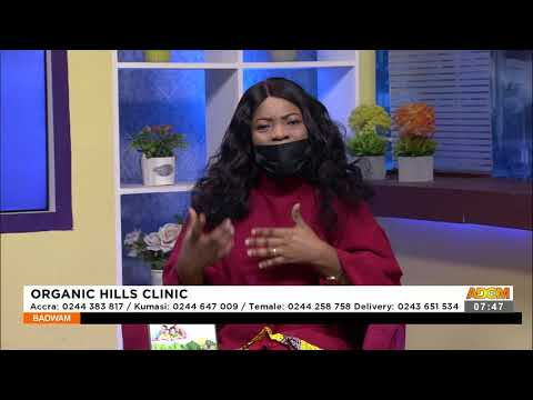 Organic Hills Clinic - Afisem on Adom TV (22-9-21)