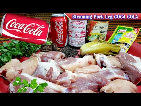 Steaming Pork Leg COCA COLA Recipes, Culinary Cooking, Homemade food