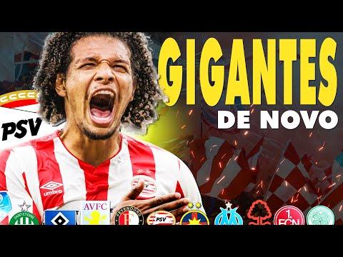 INÍCIO *CHOCANTE* COM O PSV! | Mini Carreira | GIGANTES DE NOVO #27 | FIFA 21