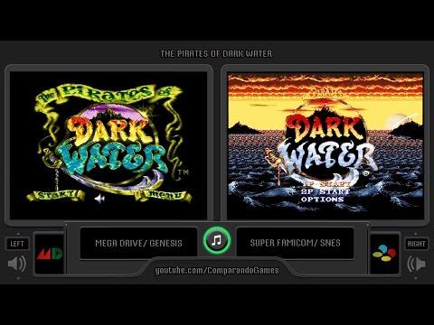 The Pirates Of Dark Water Sega Genesis Vs Snes Side By Side Comparison Youtube