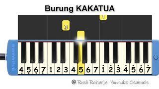 Burung Kakatua - not pianika