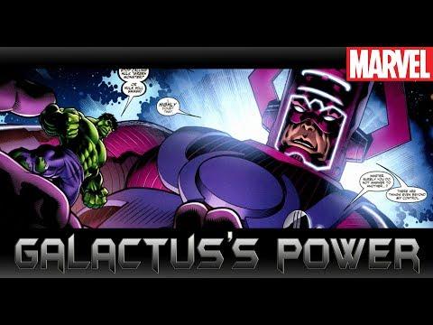 Galactusแข็งแกร่งที่สุดในมาเวล?[ Galactus Power]comic world daily