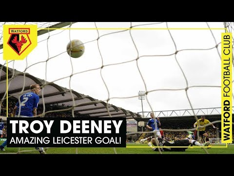 TROY DEENEY | AMAZING LAST-MINUTE GOAL V LEICESTER SENDS WATFORD TO WEMBLEY!