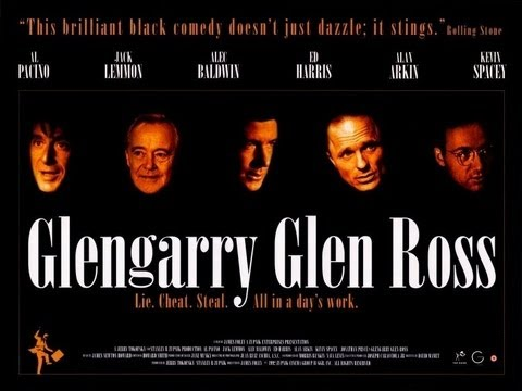 Glengarry Glen Ross - Movie Review - The Cutting Room Movie Podcast
