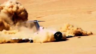 Plane Crash Boeing 727 - HD Crash Test