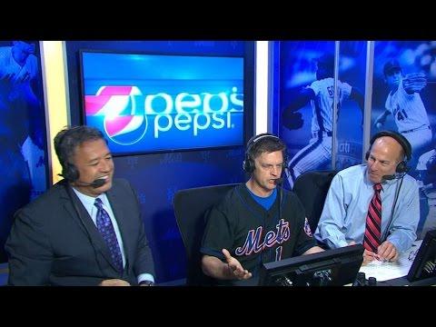 Breuer joins Mets broadcast