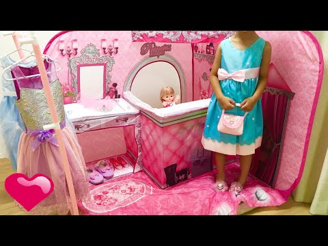 キッズテント ドレス屋さん / The Pop Up 3D Princess Boutique Playscape