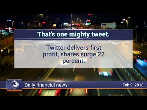 Daily Market Review, February 9th 2018: Twitter delivers its first profit call