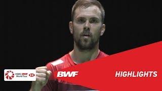 DAIHATSU YONEX Japan Open 2019 | Round of 16 MS Highlights | BWF 2019
