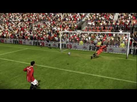 FIFA 09 Players Guide - Taking Penalties HD