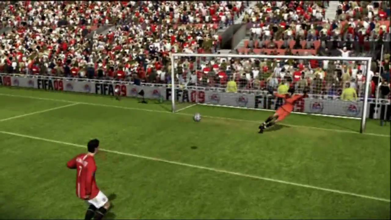 fifa 09 players guide taking penalties hd youtube rh youtube com FIFA Soccer 02 FIFA 15