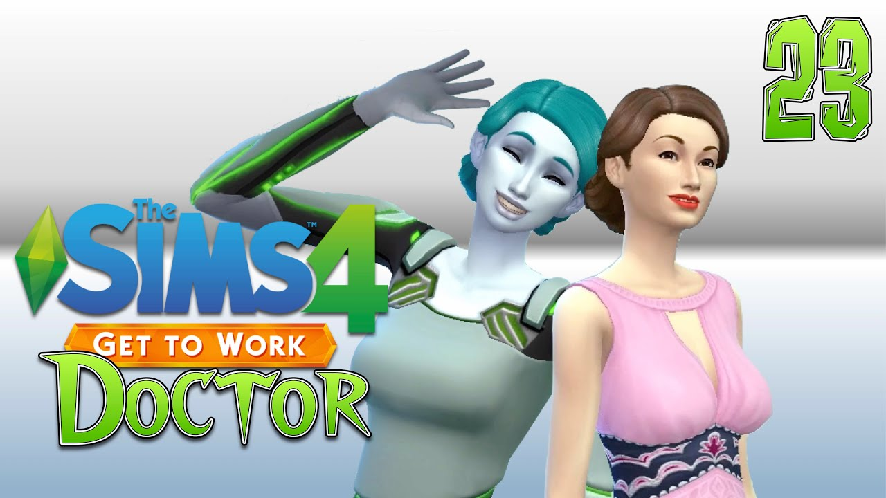 Game for coworkers - Sims 4 Get To Work Doctor Part 23 Useless Coworkers