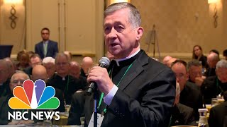 President Of U.S. Bishops Hopes Vote Delay Improves Sex Scandal Response | NBC News