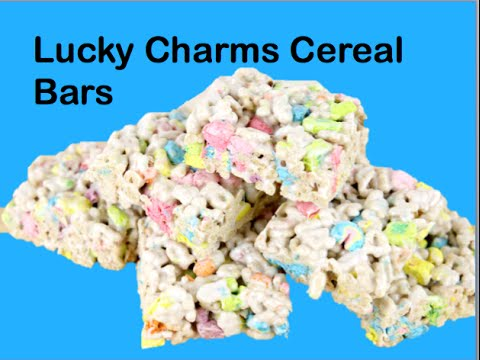 Lucky Charms Cereal Bars