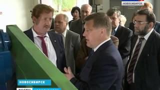 Мэр Новосибирска Анатолий Локоть посетил Завод Сибирского Технологического Машиностроения