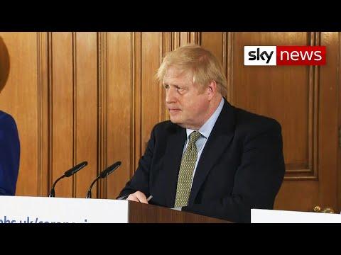 In full: Prime Minister's update on the virus pandemic
