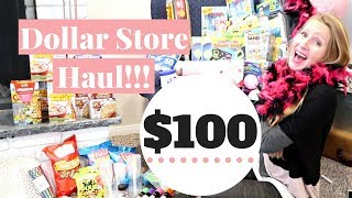 HUGE Dollar Store Haul | Easter Haul & Party Supply Haul | 99 Cent Haul