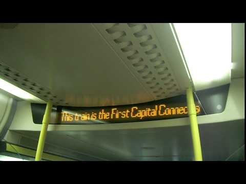 (HD) First Capital Connect Class 377 Announcement