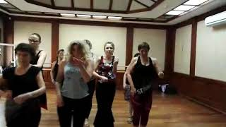 Учим испанский танец