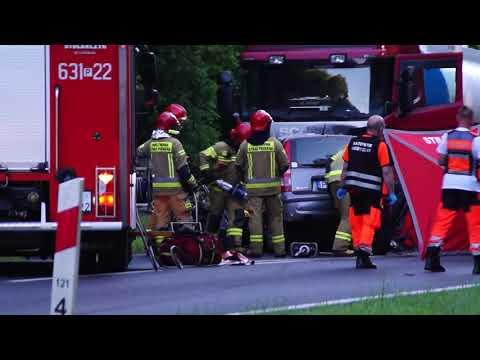 Wypadek w Pokrzywnicy koło Wągrowca
