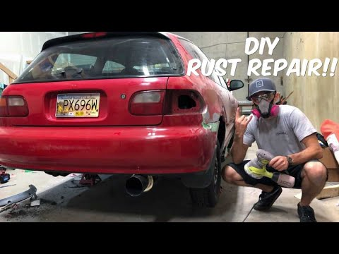 DIY RUST REPAIR! – EG Hatch