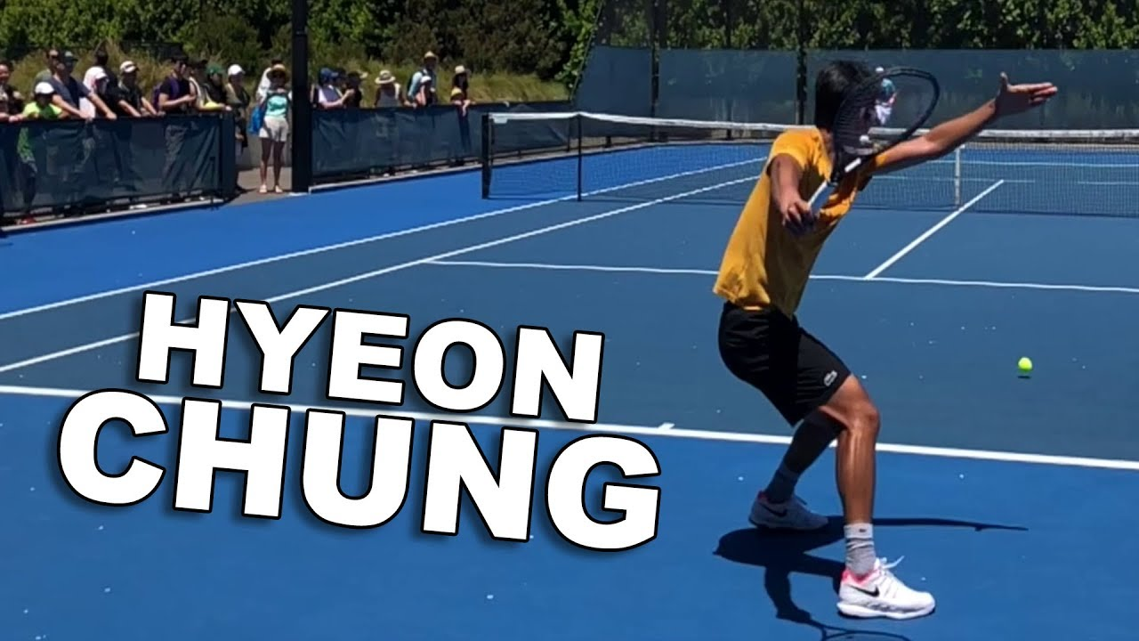 Hyeon Chung - Slow Motion Tennis - Australian Open 2019