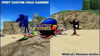 THE FIRST CUSTOM SA2 CHAO GARDEN #ModernSA2