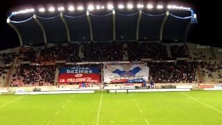BEZIERS / NARBONNE : Le TIFO de Rurgbiterre !