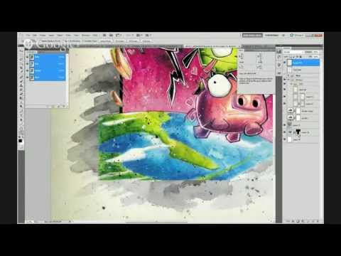 SketchCraft Live!: Texturizing Art for Canvas Printing