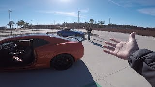 Camaro BLEW UP AGAIN and Almost Arrested.