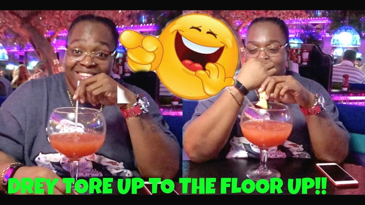 DREY IS TORE UP TO THE FLOOR UP!
