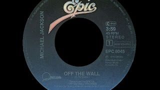 Michael Jackson ~ Off The Wall 1979 Disco Purrfection Version