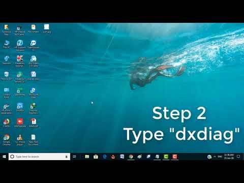 How to check Directx Version windows 10   Windows 7   8.1   10 Tutorial