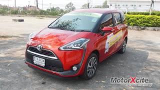 Toyota Sienta test drive by MotorXcite