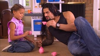Commercial with WWE's Roman Reigns as a Dad