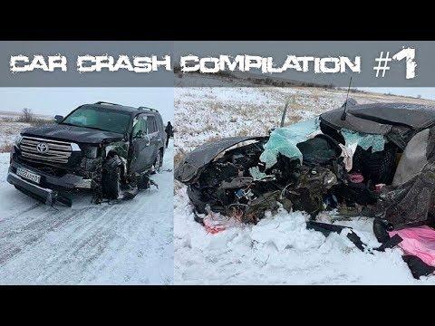 Russian Car Crash Compilation Of Road Accidents #1 December 2019