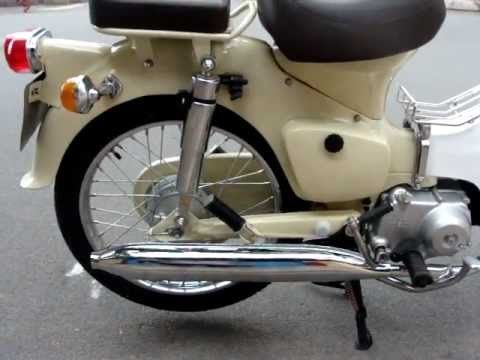 1967 Honda Cub C50 rebuilt in Cream