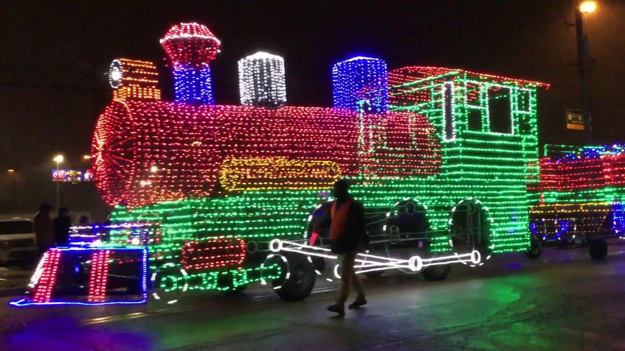 2018 East Peoria Festival of Lights Parade East Peoria, IL 11 17 ...
