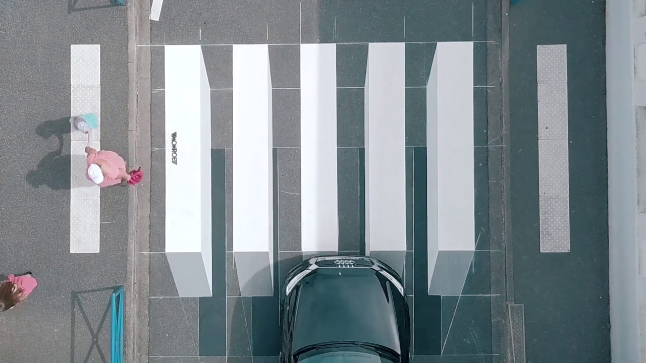 Painting A 3D Crosswalk By Nate Swain S World