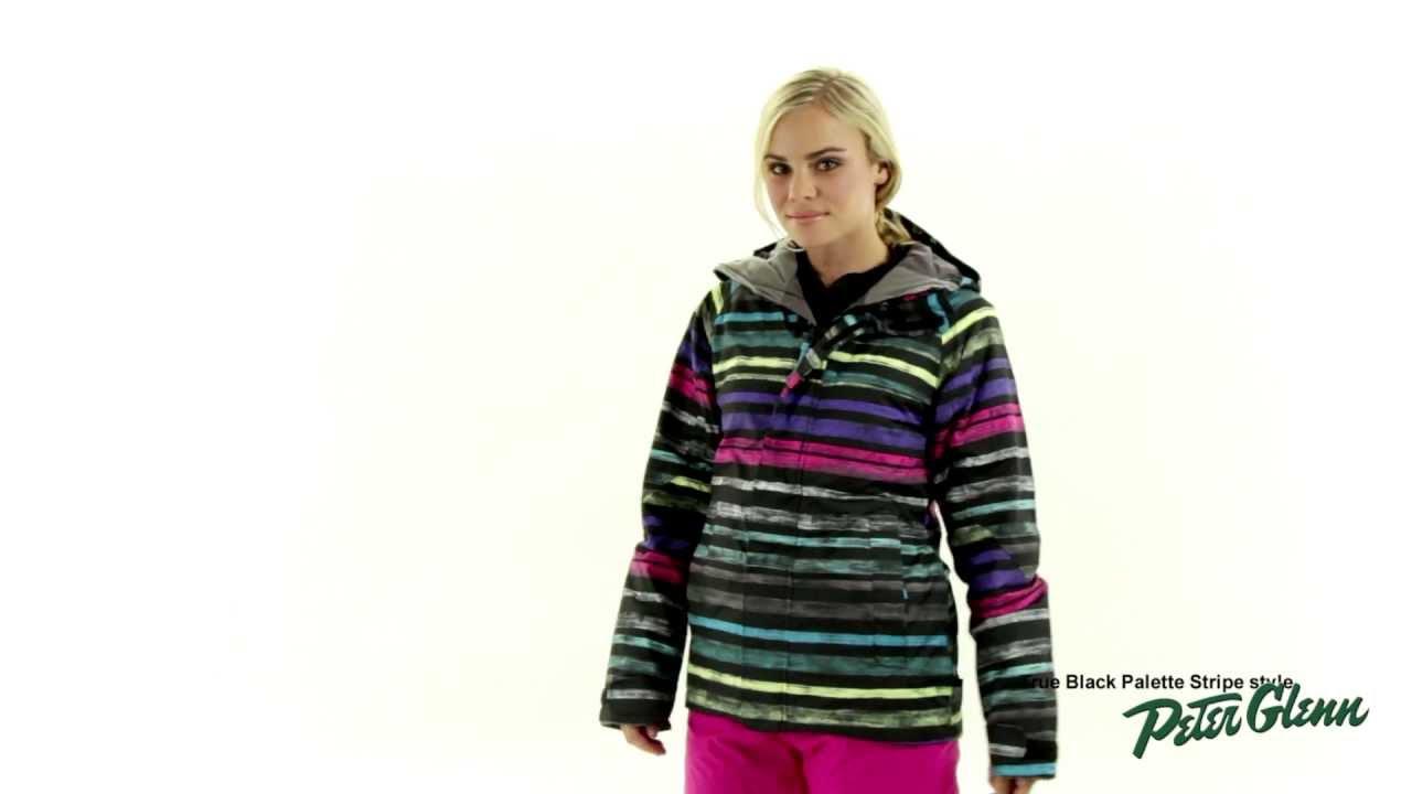 2013 Burton Women S Method Snowboard Jacket Review By Peter Glenn Youtube