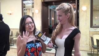 "Helen Hong ""Inside Llewyn Davis"" at Kathy Duliakas' Oscar Suite & Party Thumbnail"