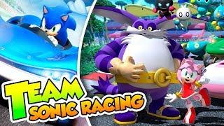 ¡Big, date vidilla! - 03 - Team Sonic Racing (PS4 PRO) DSimphony