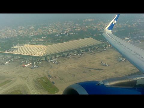 GoAir G8-121 take-off from Kolkata Airport (CCU-HYD)