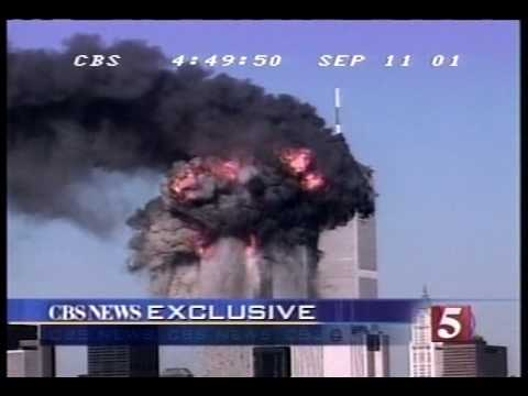 9/11/01 CBS 5 p.m. hour coverage part 5/6