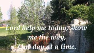 WHISPERS OF MY FATHER- ONE DAY AT A TIME by Cristy  Lane with lyrics