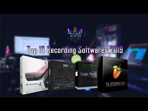 Top 10 Recording Softwares 2019 | Best DAWs For Music Production