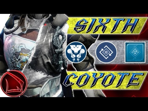 Destiny 2: Sixth Coyote Review & Build – Forsaken Hunter Exotic Armor PvP Gameplay thumbnail