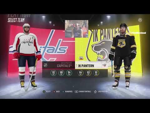 NHL 18 Hockeyallsvenskan Jerseys Uniforms